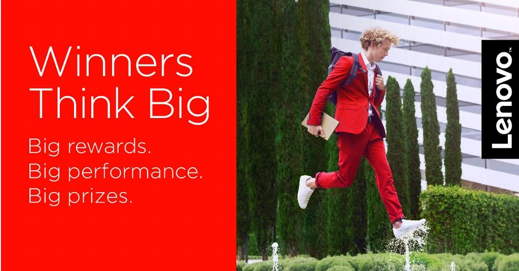 Roadshow Lenovo Winners Think Big