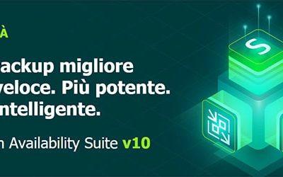 Veeam Availability Suite v10 ora disponibile!