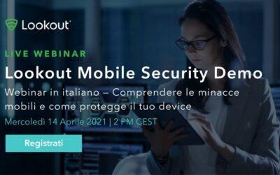 Webinar Lookout Security Mobile Demo
